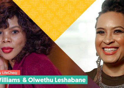 Hosted by Lifecheq: Elle Williams and Olwethu Leshabane